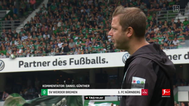 Bundesliga: SV Werder Bremen - 1. FC Nürnberg | DAZN Highlights