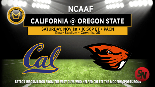 California Golden Bears @ Oregon State Beavers