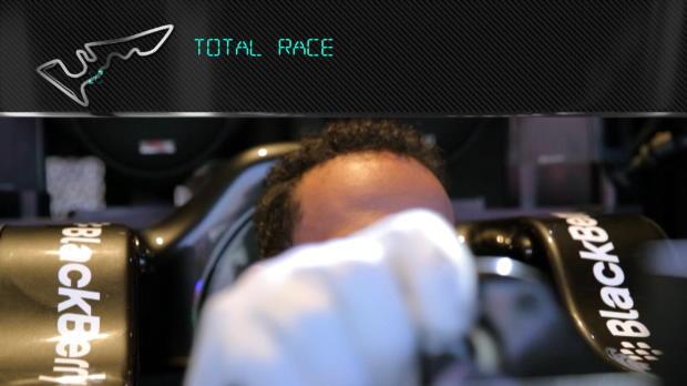 F1 - Hamilton ense�a el circuito de Texas