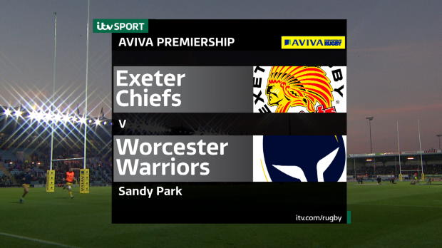 Aviva Premiership - Match Highlights - Exeter Chiefs v Worcester Warriors