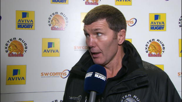 Aviva Premiership - EXE LEI POST MATCH INTERVIEW ROB BAXTER