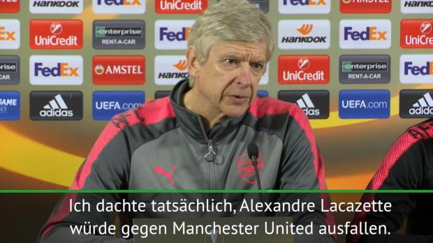 Lacazette-Posse: Wenger antwortet Mourinho