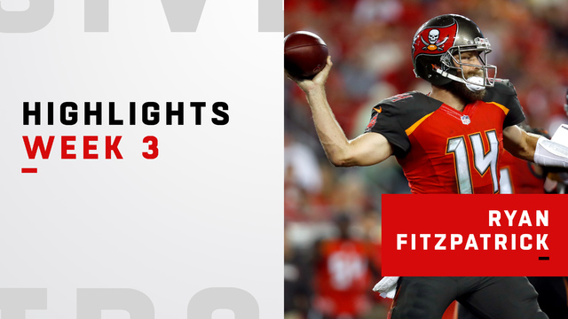 Highlights from Ryan Fitzpatrick's 411-yard day | Week 3