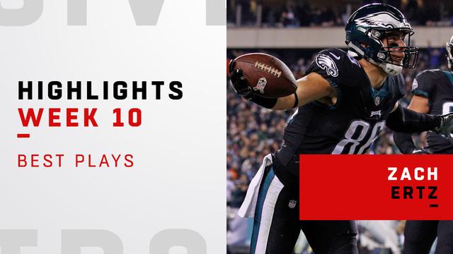 Zach Ertz highlights vs. Cowboys   Week 10