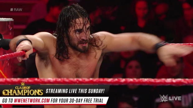 Seth Rollins vs. Sheamus: Raw, Dec. 11, 2017