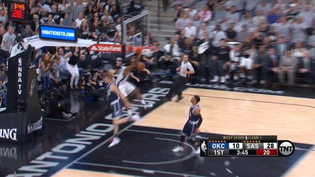 Fast Break of the Night: Kawhi Leonard