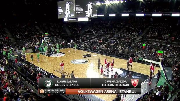 Highlights-Darussafaka-Dogus-Istanbul-Crvena-Zvezda-Telekom-Belgrade