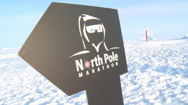 Nordpol-Marathon: Kälte, Schnee und Eisbären