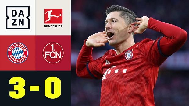 Bundesliga: FC Bayern München - 1. FC Nürnberg | DAZN Highlights