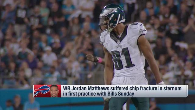 Garafolo: Jordan Matthews suffered chip fracture in first practice with Bills