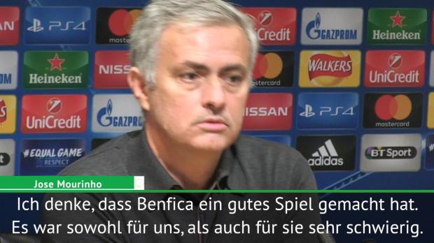 """Mourinho: """"Benfica zwang uns zu Wechseln"""""""