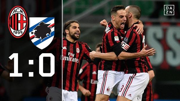 AC Mailand - Sampdoria
