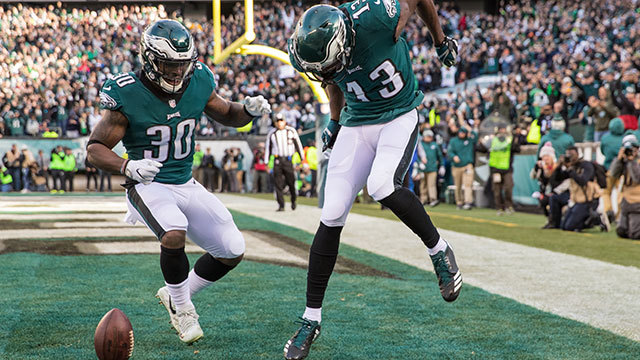 Top 5 Eagles celebrations of 2017