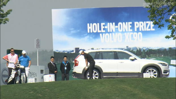 Karlberg's hole-in-one lands him a new car