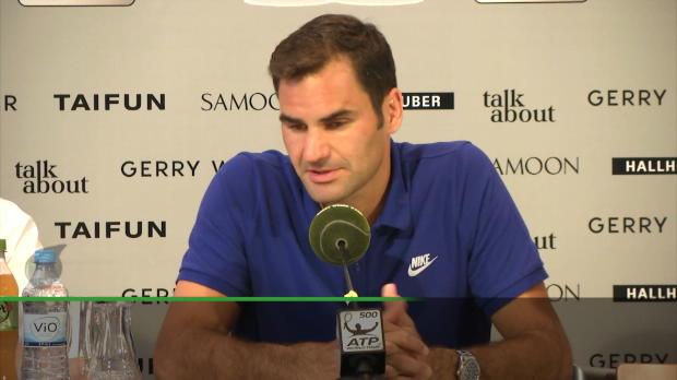 """Halle: Federer: """"Liebe die Herausforderung"""""""
