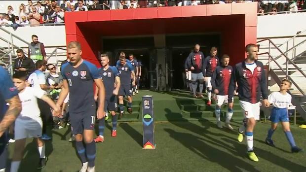 UEFA Nations League: Slovakai - Tschechien | DAZN