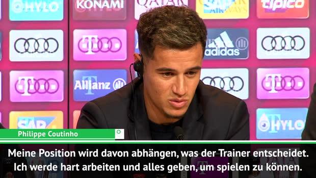"""Coutinho schwärmt: """"Müller ist ein großes Idol"""""""