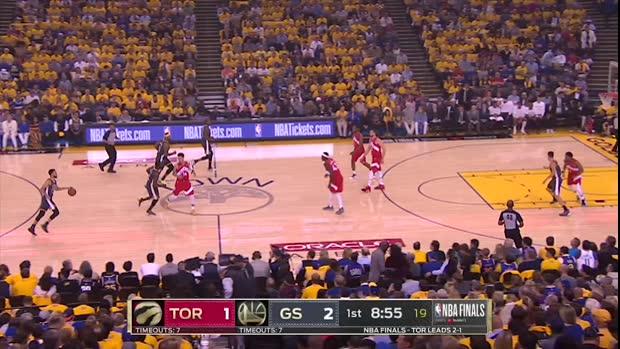 GAME RECAP: Raptors 105, Warriors 92