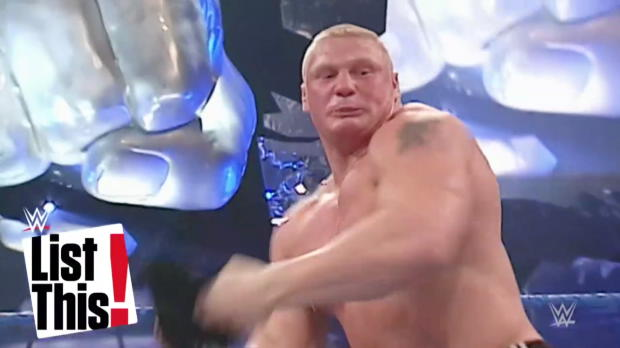 5 ossos quebrados por Brock Lesnar: WWE List This!