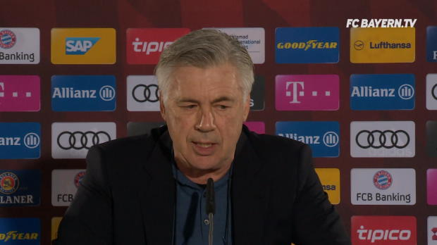 Ancelotti über Hertha, Kimmich und Wenger