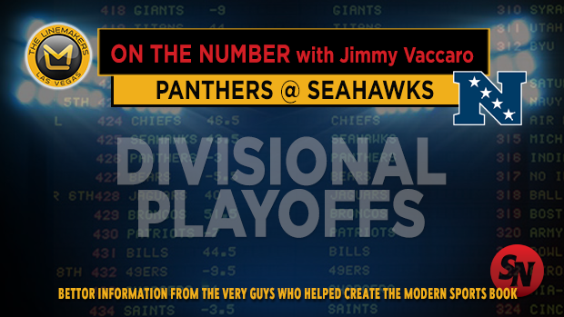 Jimmy V on Panthers @ Seahawks