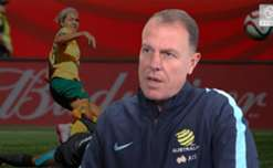 Alen Stajcic says the Westfield Matildas have the belief they can compete with any nation in the world.