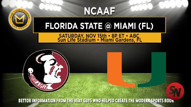 Florida State Seminoles @ Miami Hurricanes