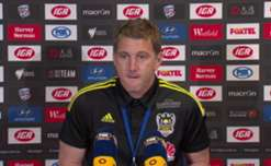 Wellington Phoenix Rd17 press conference