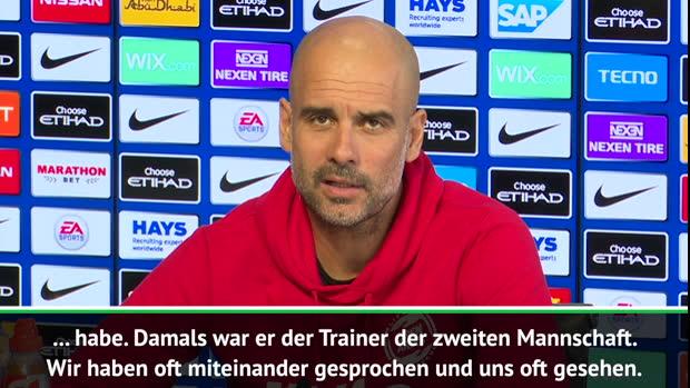 Video Guardiola Schwarmt Ten Hag Ein Vorbild