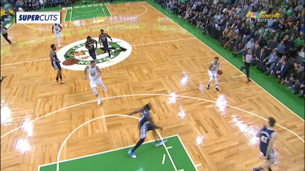 Assist Of The Night: Shane Larkin
