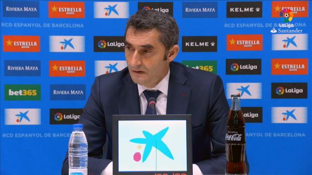Nach Derbysieg: Valverde schwärmt von Messi