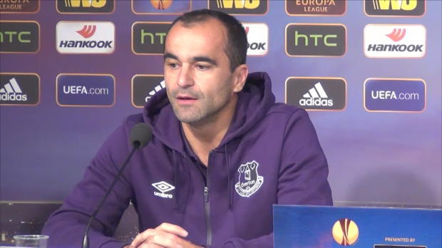 "Foot : L.Europa - Groupe H, Everton, Martinez : ""Un admirateur de Lille"""