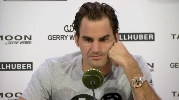 """Halle: Federer: """"Mayers Klassierung ein Witz"""""""