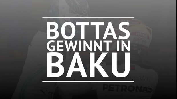 F1: Bottas vor Hamilton: Mercedes mit Doppelsieg
