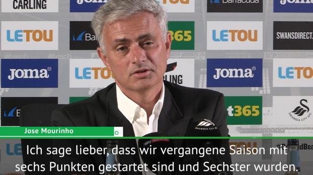 """Mourinho: """"Wurden mit gleichem Start Sechster"""""""