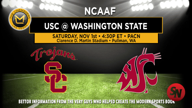 USC Trojans @ Washington State Cougars