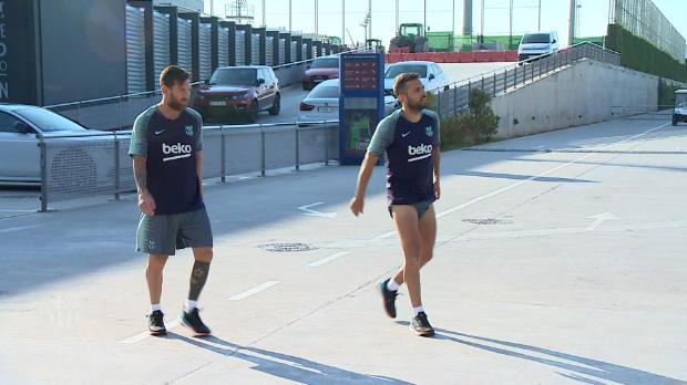 Nach WM-Urlaub: Messi, Pique & Co sind zurück