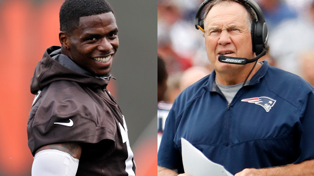 Ian Rapoport: New England Patriots 'stealthily' targeted wide receiver Josh Gordon this week
