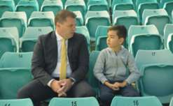 Ange Postecoglou believes Perth are a contender this season and relish the 'West v Rest' mentality.