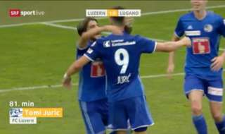 Caltex Socceroos striker Tomi Juric scored the winner in FC Luzern's opening day win in Switzerland overnight.