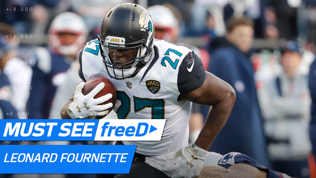 freeD: Full-field view of Leonard Fournette's TD | AFC Championship Game