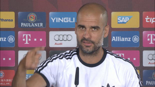 "Guardiola: ""Perfekt, wenn Schweini bleibt"""