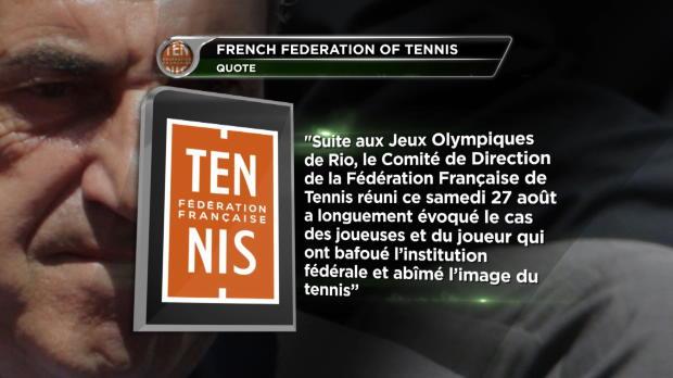 L1 : NEWS - Tennis - Paire, Mladenovic et Garcia suspendus � titre conservatoire