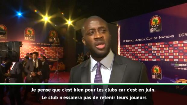 CAN 2019 - Yaya Touré - 'En juin, c'est plus facile pour les clubs'