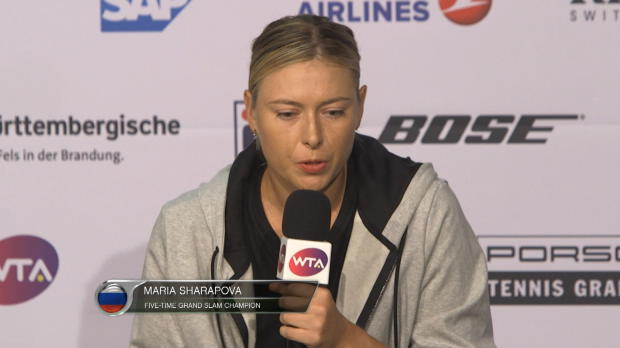 Stuttgart: Sharapova zieht Turnier-Fazit