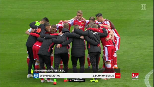 2. Bundesliga: SV Darmstadt 98 - 1. FC Union Berlin   DAZN Highlights