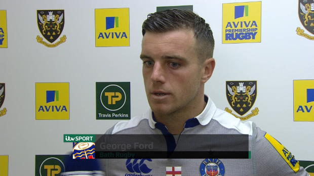Aviva Premiership - Geroge Ford Post Match Interview