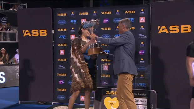 Auckland: Julia Görges erfightet 7. WTA-Titel