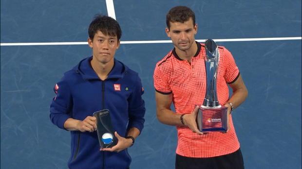 Brisbane: Dimitrov schlägt Nishikori im Finale