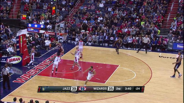 WSC: Highlights: Gordon Hayward (30 points) vs. the Wizards
